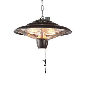 Ceiling Mounted Electric Hanging Patio Heater Heat 2KW Aluminum Garden Light