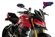 Puig Cupolino Naked N.g. Sport Ducati Streetfighter V4 S 2021 fume scuro