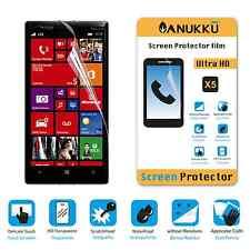3x PELLICOLA per Nokia Lumia Icon FRONTE + PANNO PROTETTIVA DISPLAY