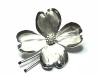 Beautiful Ladies Sterling Silver Floral Design Pin/Brooch - Take A Look!