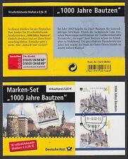 Bund MH 48 a gestempelt 1000 Jahre Bautzen selbstklebend Tages Vollstempel