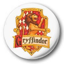 GRYFFINDOR LOGO -1 inch / 25mm Button Badge- Harry Potter Hogwarts Slytherin