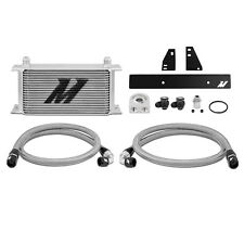 MISHIMOTO Olio Cooler Kit-Argento-Si Adatta Nissan 370Z VQ37VHR - 2009 su