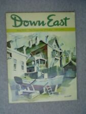 DOWN EAST Maine mag May 1970 Landlocked Salmon GULF HAGAS Governor William King