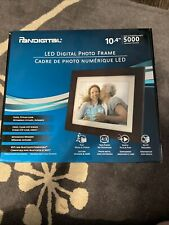 "NIB Pandigital 10.4"" LED Digital Photo Frame Holds Up To 5000 Images"