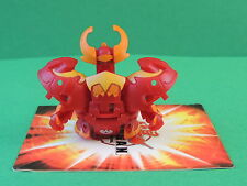 Bakugan Krakix red Pyrus Gundalian Invaders S3