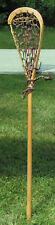 Vintage MOHAWK INDIAN Made LACROSSE STICK Wood shaft!
