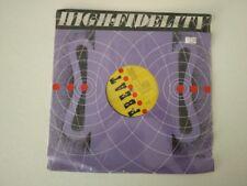 "ELVIS COSTELLO 12""  HIGH FIDELITY 1980 F-BEAT XX3T NEW SEALED UK IMPORT 45 RPM"