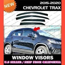 WINDOW VISORS for 15 16 17 18 19 20 Chevy Trax / DEFLECTOR RAIN GUARD VENT SHADE