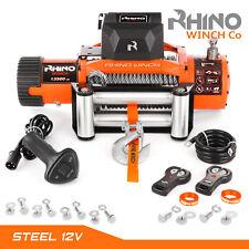 Rhino Winch 12V 13500Lb 4x4 Treuil Électrique