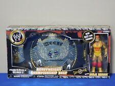 WWE Jakks Pacific Heavyweight Championship Belt with Hulk Hogan 2006 RARE
