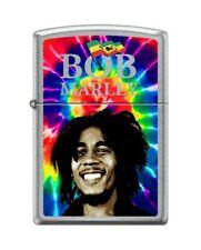 Zippo 9921 Bob Marley Street Chrome Finish Lighter