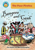 Start Reading: The Poor Pirates: Bangers and Cash by Easton, Tom (Paperback book