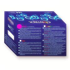 144 Preservativi Profilattici CONTROL Ultra Sottili e fini SENSO THIN + Durex