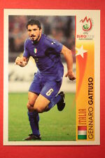 Panini EURO 2008 N. 489 GATTUSO STAR DELL'EUROPEO NEW With BLACK BACK TOPMINT