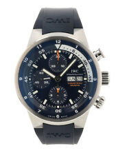 Free Shipping Pre-owned IWC Aquatimer Chronograph Cousteau Divers IW378201
