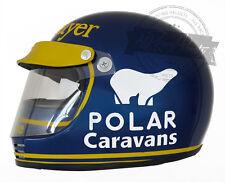 Ronnie Peterson 1974 Season Formula 1 F1 Replica Helmet Scale 1:1 Helm Casque