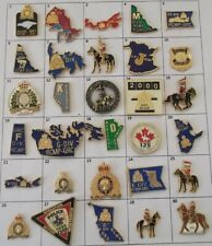 POLICE RCMP SECURITY SERVICES + QUEBEC CANADA USA OR ELSE PIN YOUR CHOICE # G892