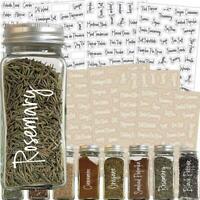 274 Stickers Spice Herb Storage Jar Labels Stickers Decals Pantry Label Stickers
