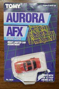 AURORA AFX TOMY PONTIAC RED FIREBIRD AFX LIGHTED TURBO SERIES HO SLOT CAR
