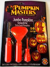 Pumpkin Carving Kit Jumbo Pumpkins Patterns Saw Scoop NIP