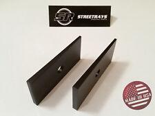 [SR] Pinion Suspension Axle Shims Leaf Wedge Lift 2.5 Degree F250 F350 SD BLACK