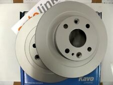Rear brake discs, Mazda MX-5 1.8 mk1 & mk2, Eunos MX5 251mm solid pair, coated