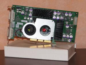 NV30 GPU flashed to GeForce FX 5800 Ultra AGP videocard