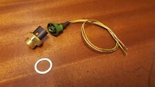RENAULT 5 GT TURBO NEW LOW TEMPERATURE RADIATOR FAN SWITCH WITH OE PLUG WIRING