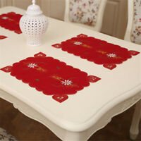 Fork Placemat Mat Decoration Home Party Christmas Dining Table