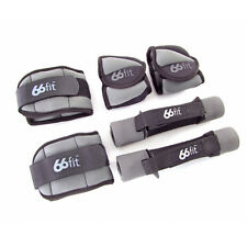 66fit™ Ankle, Wrist and Dumbbell Set  Weights Training Exercise Fitness Aerobics