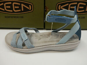 Keen Womens Damaya Ankle Sterling Blue Dress Blue Size 8