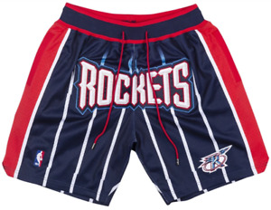 Houston Rockets Basketball Shorts with Pockets GREY