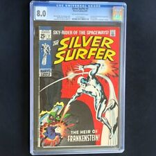 Silver Surfer #7 (Marvel 1969) 💥 CGC 8.0 OW-W 💥 The Heir of Frankenstein Comic
