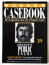 MURDER CASEBOOK / FRANCE'S PUBLIC ENEMY No. 1 / JACQUES  MESRINE