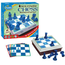 Thinkfun Solitaire Chess Logic Game NEW