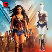 DFYM Justice League Wonder Woman Diana Prince Cosplay Costume Full Set Custom