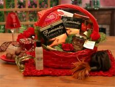 Romantic Massage Gift Basket/Wedding/Anniversary/Valentine/Massage Oils/Candy