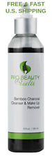 ORGANIC Make Up Remover Activated Bamboo Charcoal Citrus Pore Face CLEANSER MSM