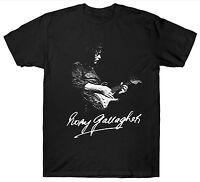 RORY GALLAGHER T SHIRT GUITARIST GUITAR 1970'S 1980'S RETRO VINTAGE BIRTHDAY