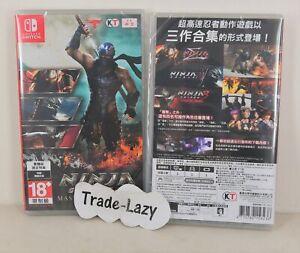Switch Ninja Gaiden Master Collection 1 + 2 +3 (HK, ENGLISH/ Chinese/ Spanish)
