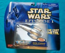 1998 STAR WARS EPISODE 1: ROYAL STARSHIP MICRO MACHINES DIECAST MOSC
