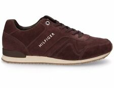 🔥 Tommy Hilfiger Maxwell ®  ( Men UK Sizes: 7 - 10 ) Coffee Bean Brown Suede
