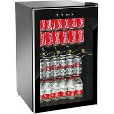 Mini Beverage Refrigerator Fridge Wine Soda Drinks Bar Beer Chiller Cooler 150