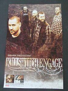 KILLSWITCH ENGAGE Album poster original record store promo