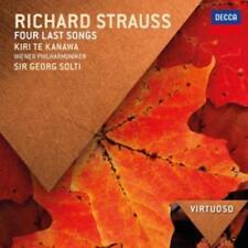Strauss: Vier Letzte Lieder (Virtuoso) von WP,Chailly,Solti,Fassbaender,Kiri Te Kanawa (Sopran) (2015)