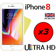 3x ULTRA CLEAR HD SCREEN PROTECTOR COVER LCD GUARD FILM FOR APPLE IPHONE 8
