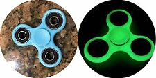 Blue Glow Professional Fidget Spinner Autism ADHD EDC Stress Relief Hand Fidgit