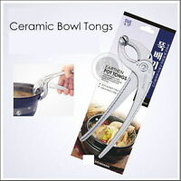 Aluminum Hot Earthen Pottery Grabber Ceramic Pot Stoneware Bowl Tongs Holder