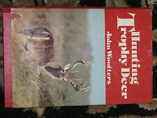 HUNTING TROPHY DEER Wootters Book Hardcover